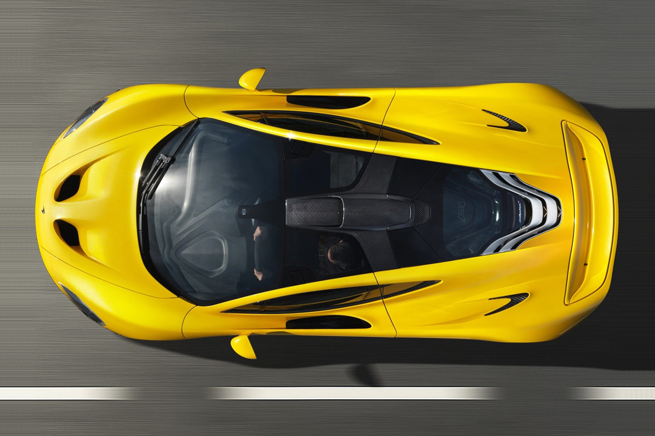 Official Imagery For 2014 McLaren P1 Released