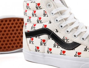 Vans DQM General x I Love New York 2013 Capsule