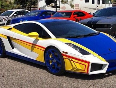 Chris Brown's EL TORO Lamborghini by West Coast Customs