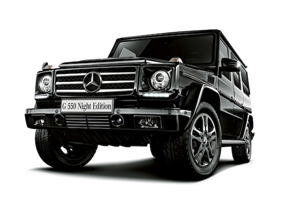 Mercedes-Benz G550 'Night Edition'