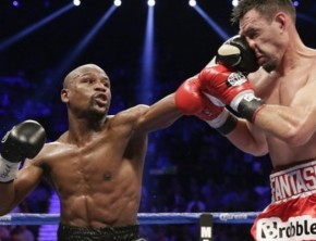 Floyd Mayweather easily defeats Robert Guerrero on May Day.
