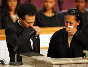 Kris Kross Chris Kelly Honored At Memorial Service In