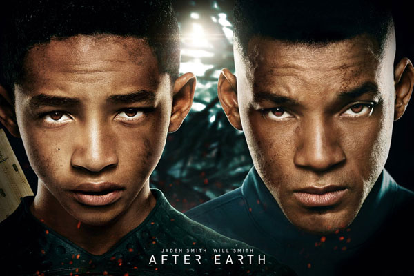 After Earth - Jaden and Will Smith