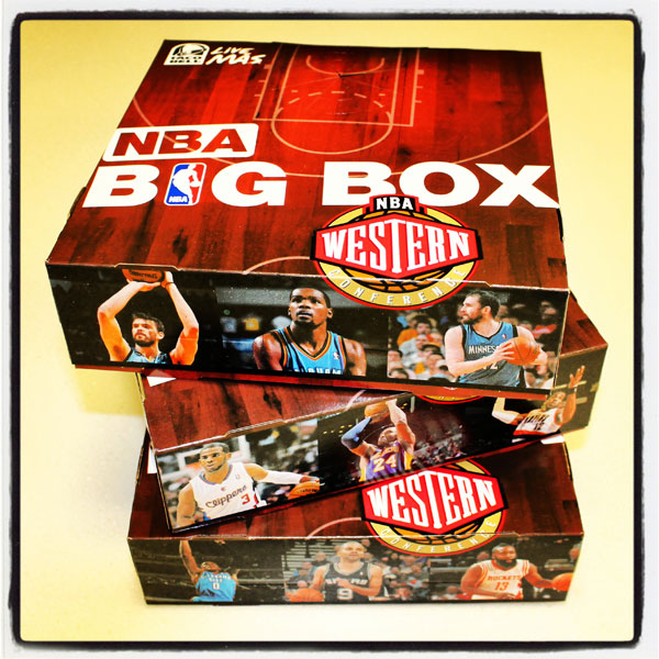 The Taco Bell NBA BIG Box promotion