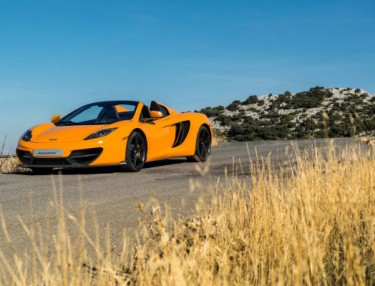 McLaren 50th anniversary MP4-12C Coupe and Spyder