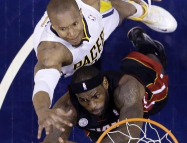 Lebron James and David West