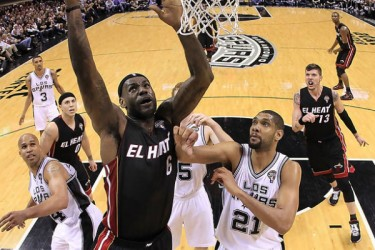 Miami Heat vs. San Antonio Spurs - 2013 Finals