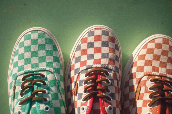 Vans California Collection Fall 2013: Checker Pack