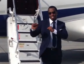 Diddy Introduces The #DiddyJetDance (Video)