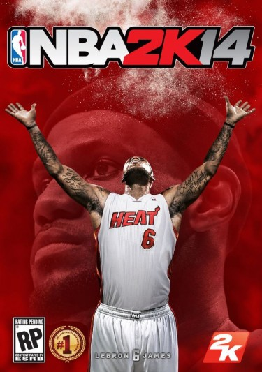 NBA 2K14 with LeBron James