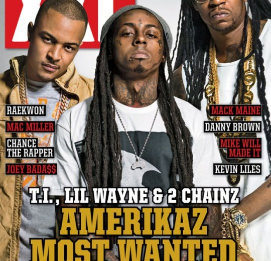 July/August 2013 XXL - Lil Wayne, T.I. & 2 Chainz