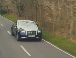 Behind The Wheel Of The 2014 Rolls-Royce Wraith (Video)