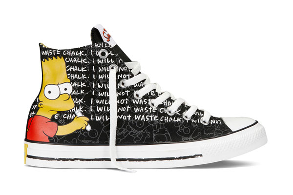 Converse x Simpsons Chuck Taylor All Star collection