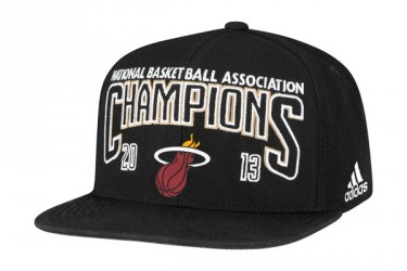 NBA x Adidas - Miami Heat 2013 Championship Collection