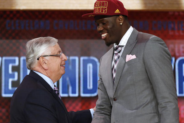 Cleveland Cavs pick Anthony Bennett with no. 1 pick in 2013 Draft