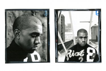 Early 2000s Kanye West, shot by Jonathan Mannion