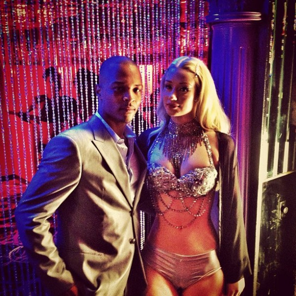 Iggy Azalea shoots 'Change Your Life' in Las Vegas.