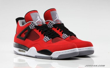 Air Jordan 4 Retro Fire Red 'Toro'