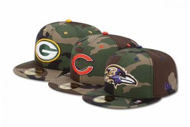 New Era NFL Camo Pop 59FIFTY series