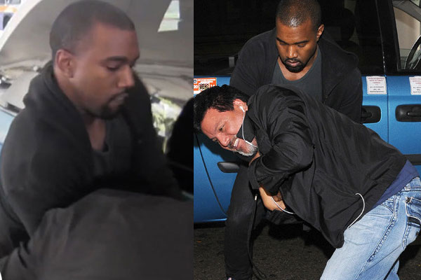 Kanye West vs. the paparazzi
