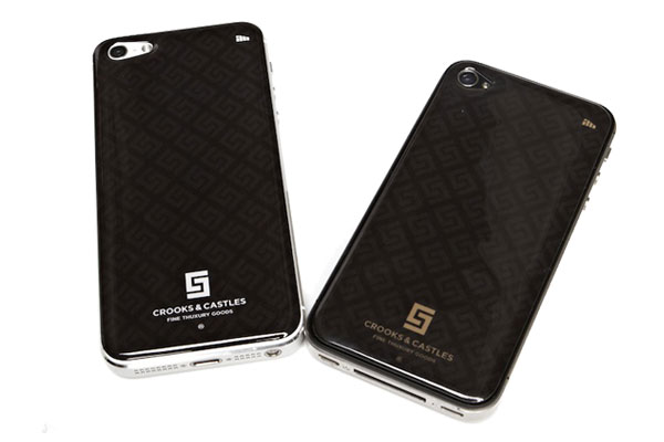 Crooks & Castles x IM.brnd iPhone Skins