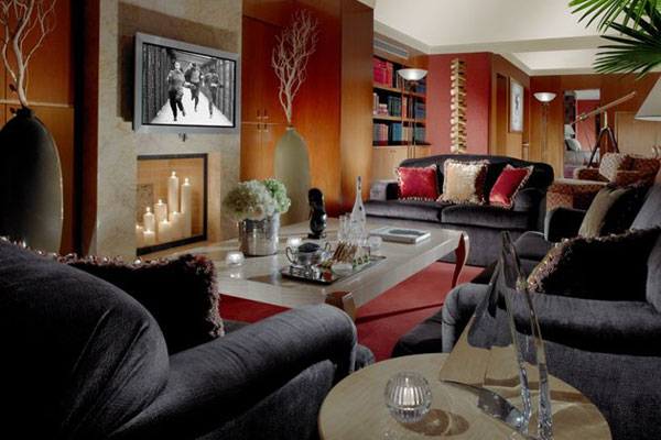 Royal Penthouse Suite at the Hotel President Wilson in Geneva, Switzerland