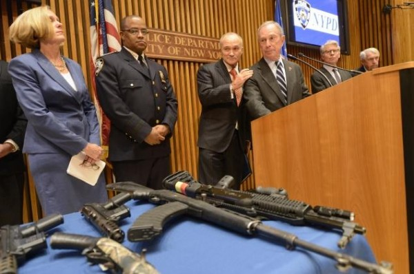 Mayor Bloomberg addresses Neno Best gun bust