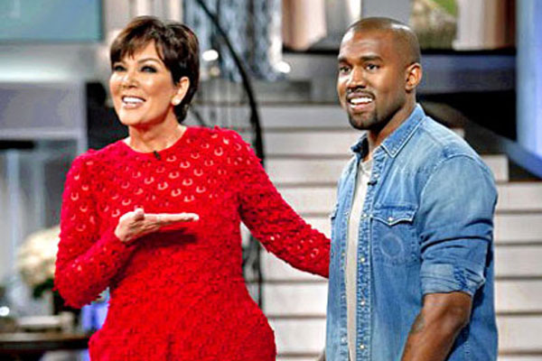 Kanye West Tapes Rare TV Interview For Kris Jenner