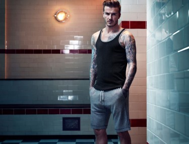 David Beckham Bodywear for H&M Fall/Winter 2013 collection