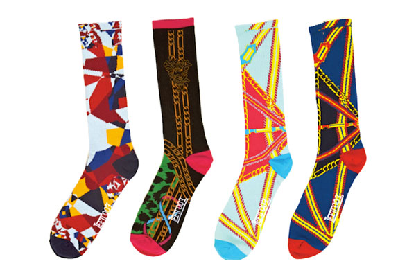 Left Foot x Crooks & Castles sock collection
