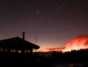 Rim Fire 2013 at Yosemite National Park (Time-Lapse Video)