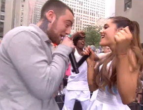 Ariana Grande, Mac Miller Perform 'The Way' On 'Today' Show (Video)