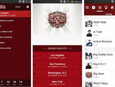 Rock The Bells App