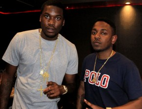 Meek Mill and Kendrick Lamar