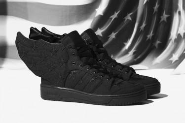 Adidas Originals x A$AP Rocky by Jeremy Scott JS WINGS 2.0 Black Flag