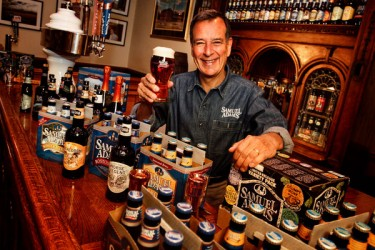 Jim Koch, creator of Samuel Adams beer.