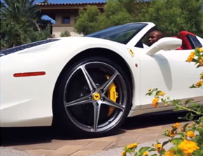 Floyd Mayweather Shows Off Insane Car Collection