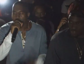 Kanye West Delivers Tipsy Rant In Support Of Pusha T