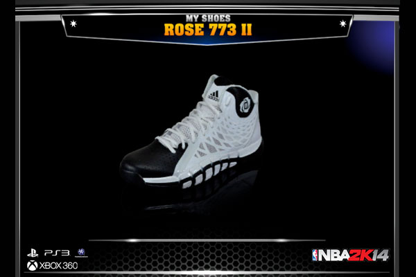Sneakers for NBA 2K14