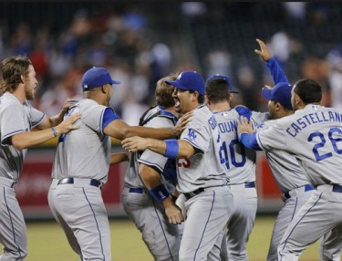Los Angeles Dodgers clinch 2013 playoff spot