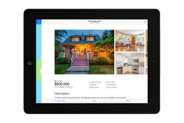 Zillow's iOS 7 - Real Estate app