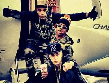 Justin Bieber with Lil Twist
