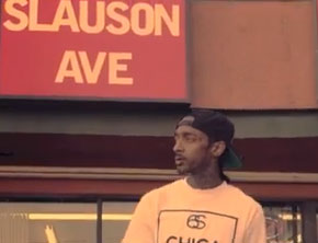 Nipsey Hussle - Crenshaw and Slauson (True Story) (Music Video)