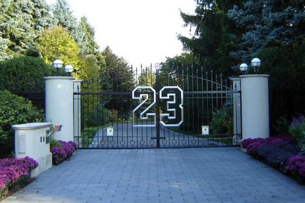 Michael Jordan's Chicago Mansion