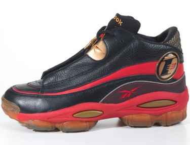 Reebok Answer 1 DMX 10 Black/Red/Gold