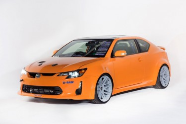 Scion Tuner Challenge cars at 2013 SEMA show