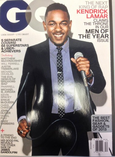 Kendrick Lamar covers GQ Men Of The Year Issue
