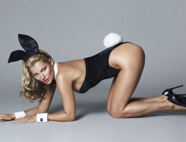 Kate Moss for Playboy's 60th anniversary issue.