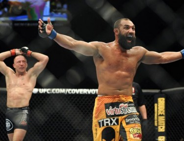 Georges St-Pierre and Johny Hendricks - UFC 167