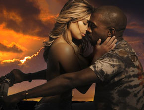 Kanye West (ft Kim Kardashian) - Bound 2 (Music Video)